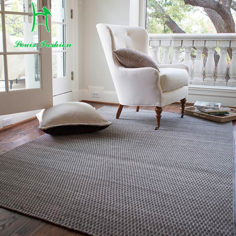Living Room Carpet Nordic Modern Simplicity India Imported Pure Wool Bedroom Coffee Table