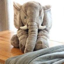 купить Appease Elephant Plush Doll Pillow Soft Stuffed Animals Sleeping Back Cushion Kawaii Baby Playmate Accompany Doll Toys For Kids онлайн