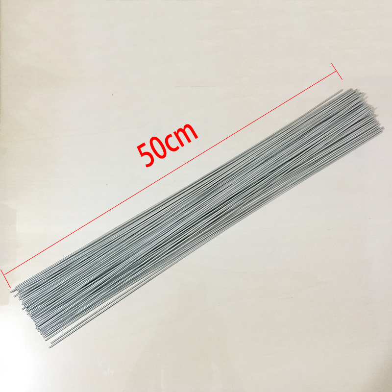 20Pcs 2mm Flux Cored Aluminum Welding Wire No Need Powder Instead of WE53 Copper