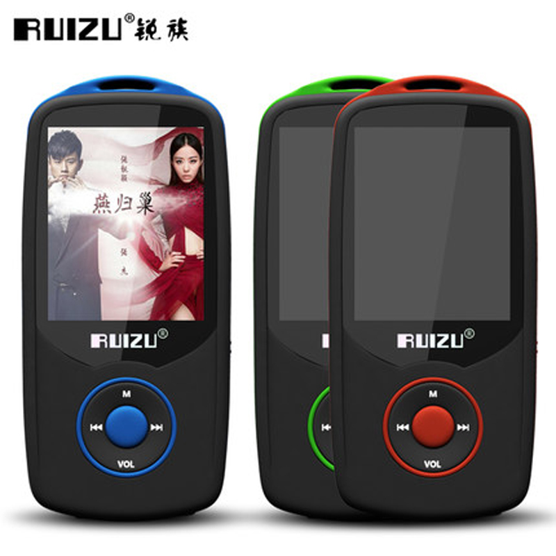 RUIZU Mp3-Player Lossless-Recorder Bluetooth Sport High-Quality New with 100hours FM