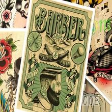 Galleria barber tattoos all Ingrosso - Acquista a Basso Prezzo barber  tattoos Lotti su Aliexpress.com f62b1dd053c5