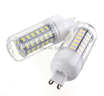 цена на 11W G9 SMD 5730 LED corn bulb lamp,56LEDS,220V,Warm white /white led lighting,5730 LED G9 light
