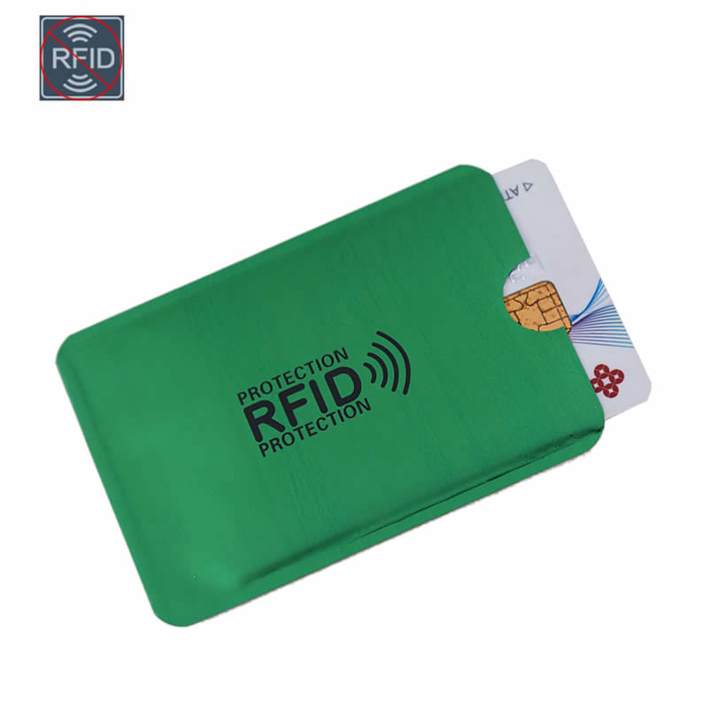 5 Card Slots RFID PU Credit Card Pouch Case Wallet Bag Holder Universal Cardfile