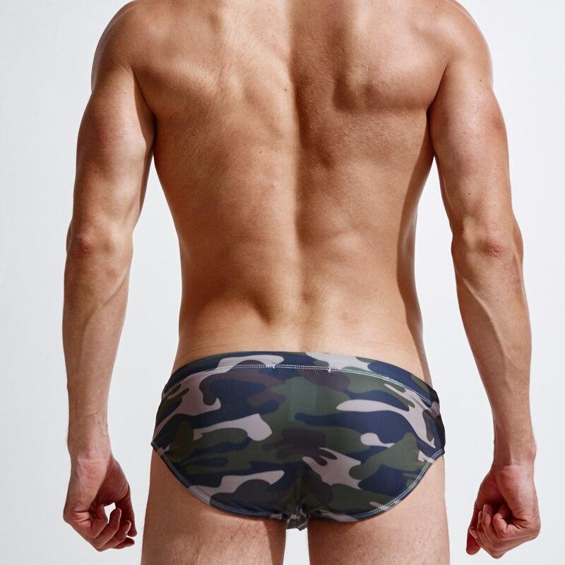 Superbody Blagovna znamka Camouflage igra vodne kovčke Sexy play - Moška oblačila - Fotografija 2