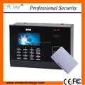 Free shipping hot sale standarlone M300 13.56MHz proximity card   LIinux system color LCD card time attendance time recorder