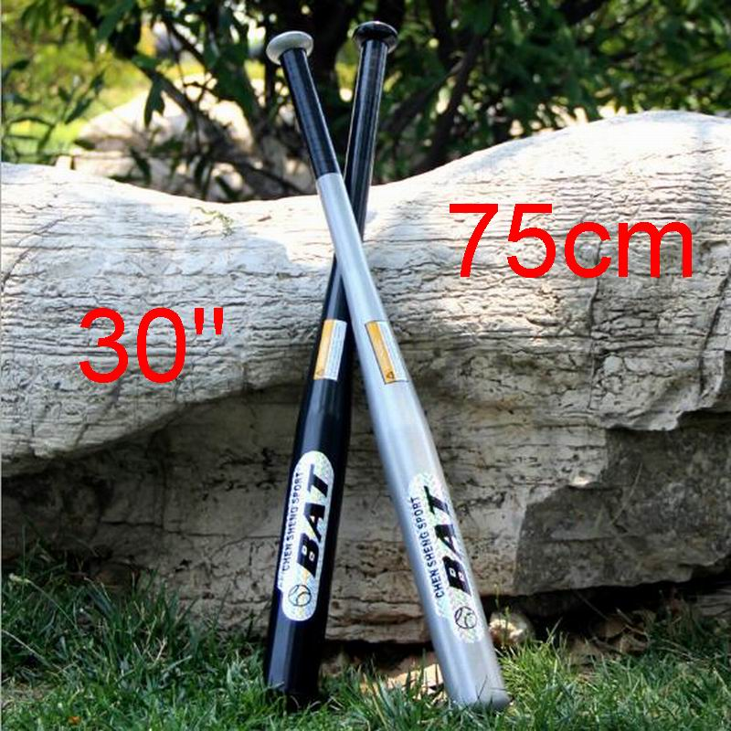 "30"" 75cm Alloy Steel Baseball Bat High Hardness Endurance Professional Process Comfortable Red Black Silver Blue"