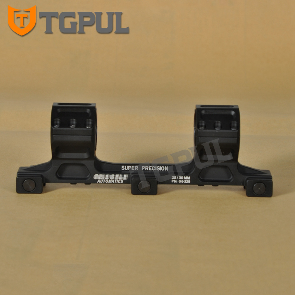 TGPUL GE 37.5mm Ultra High Rifle Scope Mount Lightweight Tactical Hunting Scope Rings fit 20 Weaver Picatinny Rail AR15 M4 M16