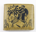 2017 Comics Amine Cartoon Purse Leather Casual Wallets Naruto Sasuke Men Purse Fans Boys Gift