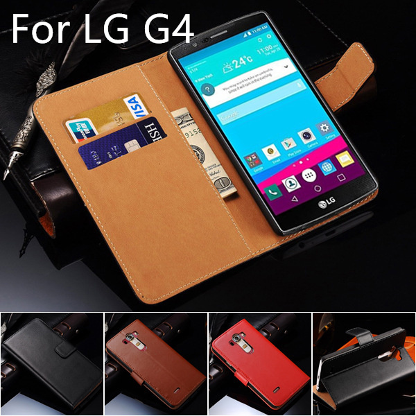 buy online 747b6 8b6ec US $6.64 5% OFF|LG4 Wallet Style Leather Case for LG G4 With Card Holder  Stand Design Flip Cover black Cases for LG4 H810 G 4 VS999 F500 Covers-in  ...