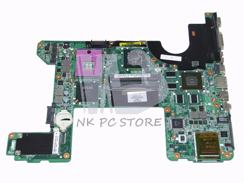 496460-001 Main Board For HP HDX16 Laptop Motherboard PM45 DDR2  9600M with Free CPU DA0UT6MB8F0 nokotion 744189 001 745396 001 main board for hp 215 g1 laptop motherboard ddr3 with cpu zkt11 la a521p warranty 60 days