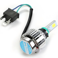Motorcycle Headlamp M3 Mini Motorcycle LED Lights 24W 2500LM Motor Motorbike Light Bulbs DRL 6500K Universal