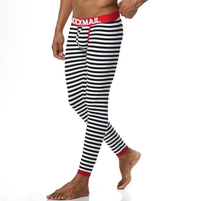 JOCKMAIL sous vetement homme hiver Men Long Johns Cotton Thermal Underwear Men trousers Warm Long Johns Leggings Pants winter 2