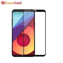 For LG Q6 LgQ6 Glass Tempered Screen Full Protector Front Co