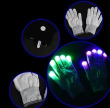 2017 Funny Michael Jackson Glowing font b Gloves b font Toys font b LED b font
