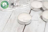 Dye Gratis Wit Ongeparfumeerde Smokeless Soja Tea Lights 50 stuks