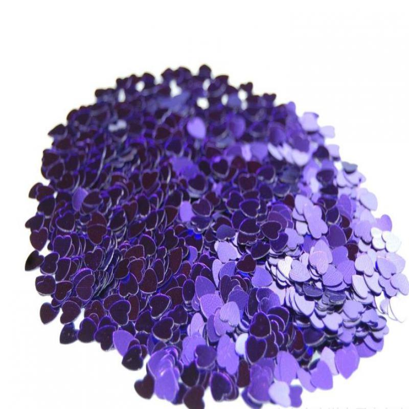 casamento Purple Red Gold Silver Sparkle Heart Wedding Confetti - Per vacanze e feste