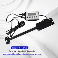 0 150mm 0.01mm Digital Readout digital linear scale External Display Digitale lineaire schaal External Display Ruler New Arrival