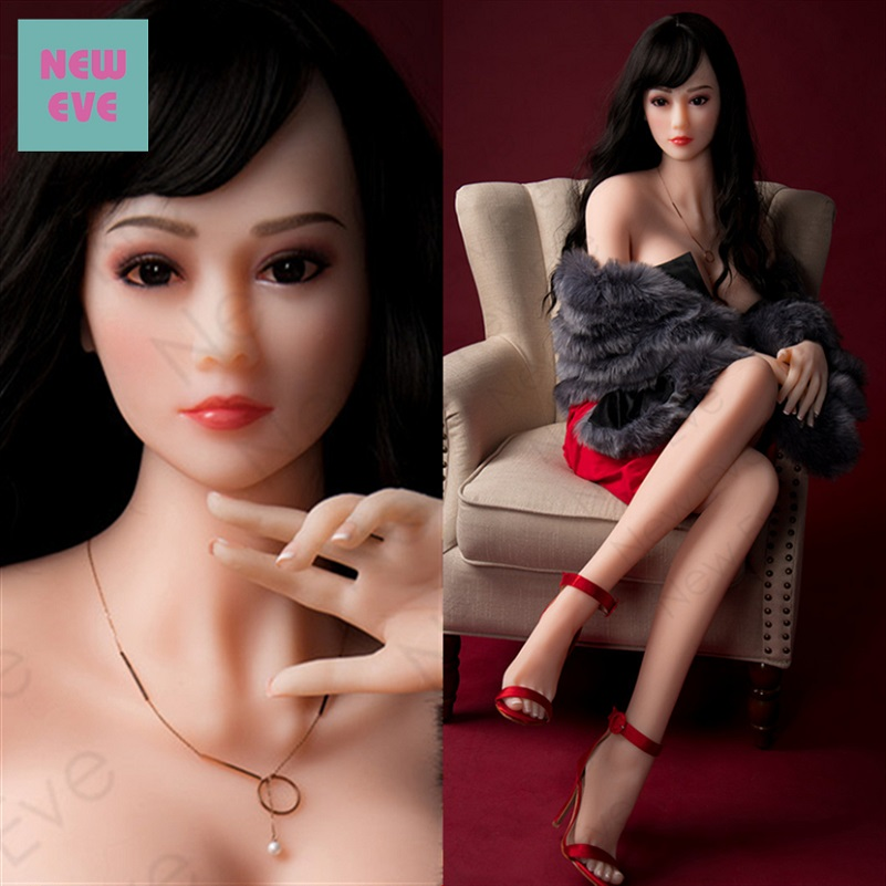 Real Sized Young Girl Silicone Realistic Sexy Robot Doll China Face 168cm Lifelike Vagina Fat Ass