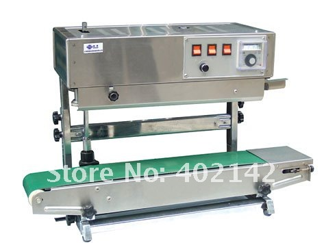Free Shipping by DHL fedex 100 warranty SF 150W Automatic vertical Plastic bag sealing machine band