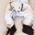 0-2 anos Calças de elefante Bonito Do Bebê Algodão Outono Calças Infantis Recém-nascidos desportos de Lazer Calças Do Bebê Menino Roupa Do Bebê Calças do bebê