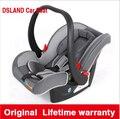 Dsland детская коляска свет 4 бегун двусторонняя сиденья амортизатор