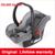 Dsland cochecito de bebé luz el 4 camino de dos vías de seguridad amortiguador