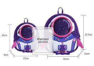 Image 5 - 2019 nowe torby szkolne dla dzieci 3D śliczne Anti lost plecak dla dzieci plecak szkolny dla dzieci torebki dziecięce dla wieku 1 6 lat