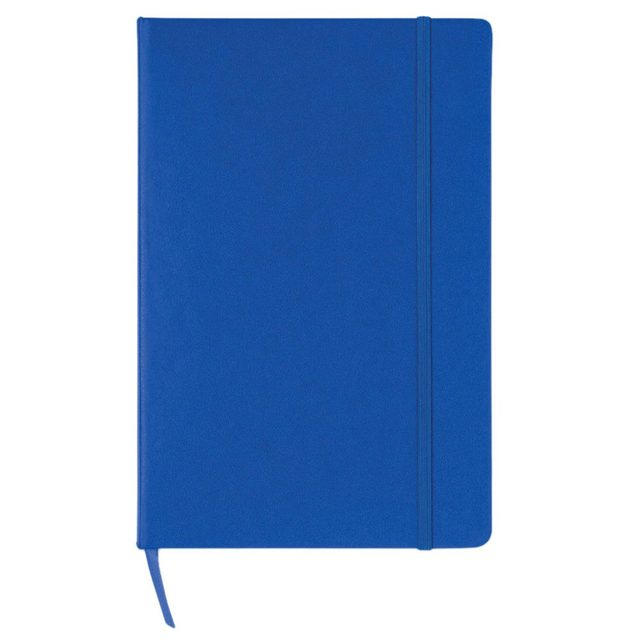 a5 hardback white graph paper note pad book organiser jotter memo notebook colourblue