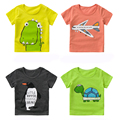 2017 summer boys girls unisex T shirt character cotton soft fashion sports causual school party solid new style animals print