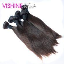 Wholesale Price 10Pcs Cheap Dark Brown Brazlilian Virgin Hair Straight Ms Lula Hair Weave Free Fast Shipping Top Quality Hair