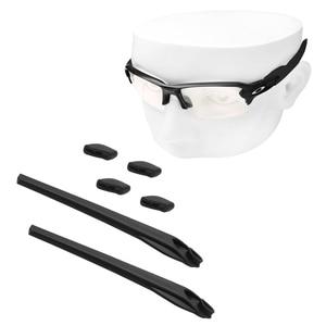Image 2 - OOWLIT almohadillas para la nariz y los oídos para juegos de gomas, gafas de sol Oakley Flak 2,0 XL OO9295