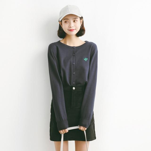 Aliexpress.com : Buy Autumn 2017 Knitted Cardigan Sweater Women ...