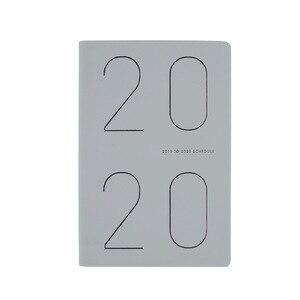Image 5 - Agenda 2019 2020 Pianificatore Organizzatore A5 Diario di Notebook e Riviste Mensili Settimanale Nota Libro Pad Ufficio Programma di Viaggio A Mano libri