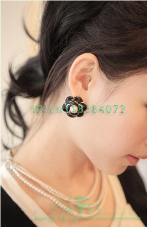 Free shipping/gift/necklace/white/Three natural freshwater pearl necklace; genuine; custom; Korean ladies necklace