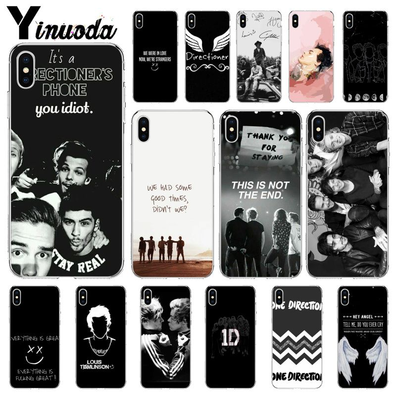 Yinuoda <font><b>One</b></font> Direction Louis Tomlinson Smart <font><b>Cover</b></font> Soft Shell <font><b>Phone</b></font> Case for Apple iPhone 8 7 <font><b>6</b></font> 6S <font><b>Plus</b></font> X XS MAX 5 5S SE XR image