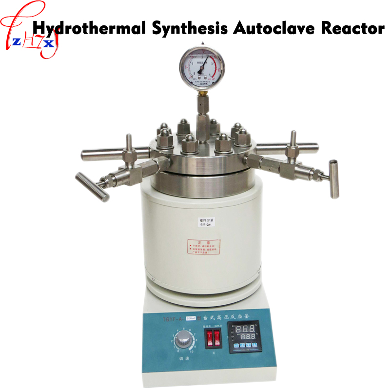 Hydrothermal Synthesis Autoclave Reactor 250ml tabletop high pressure stainless steel reaction kettle 1pc