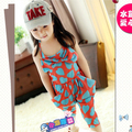 Baby Kids Girls Jumpsuit Heart Halter Harem Pants Bow Trousers Strap Romper Kids Clothes