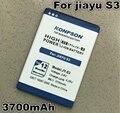 Os Recém-chegados 3700 mAh JY-S3/bateria para jiayu JY S3 s3 Bateria global frete grátis