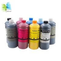 WINNERJET Tinta Pigmentada de 1000 ml para Epson Stylus Pro 7890 9890 de Impressora