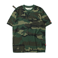 Military Army Camouflage T shirt 2017 Summer Casual Cotton Tee Tops Fashion Breathable Men T shirt