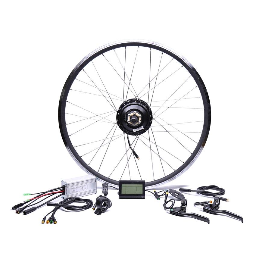 Étanche 48v500w Bafang Cst Cassette Arrière Vélo Électrique Conversion Kit Brushless Hub Moteurs 20 ''26'' 28''Motor Roue