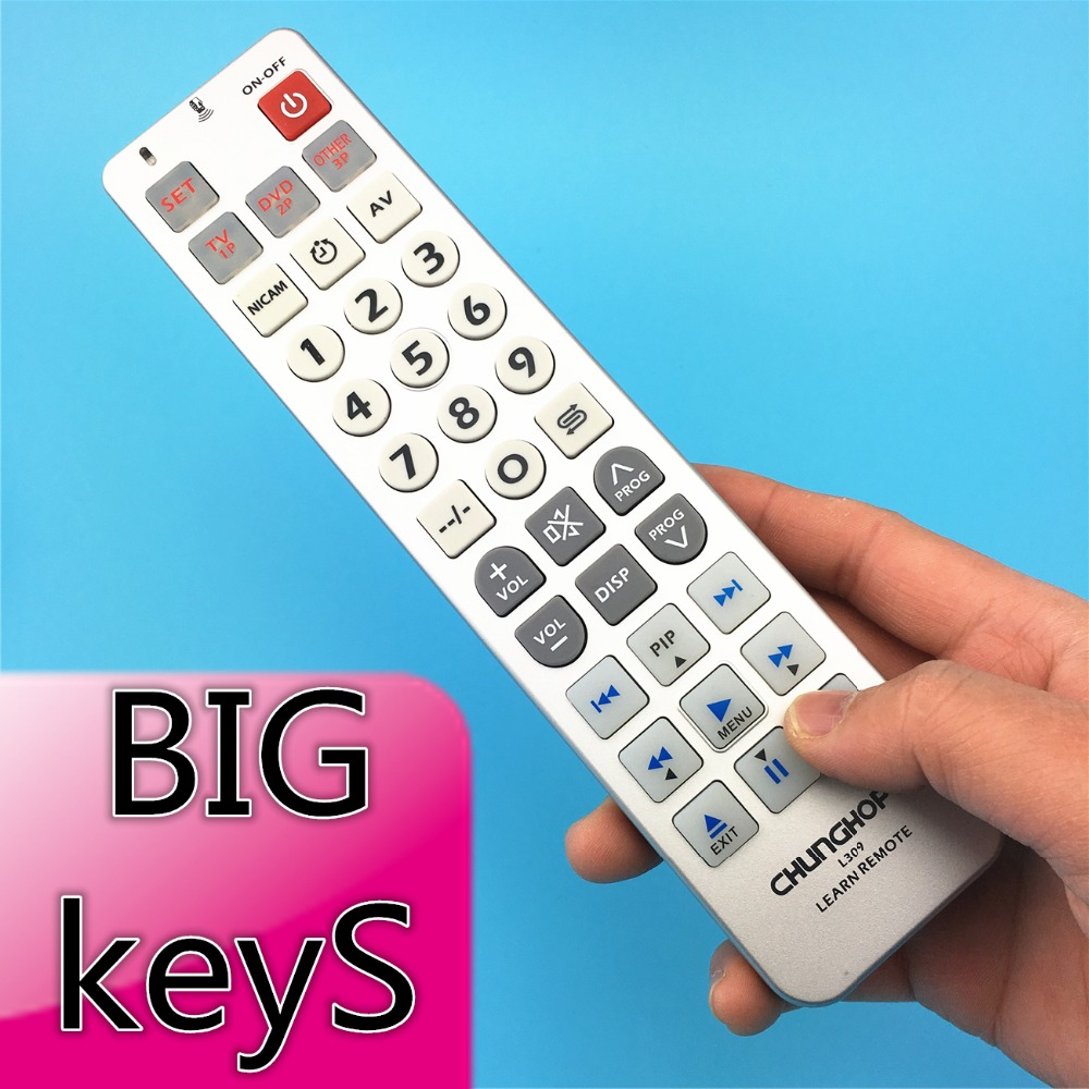Universal learning Remote Control controller Chunghop L309 For TV SAT DVD CBL DVB T font b