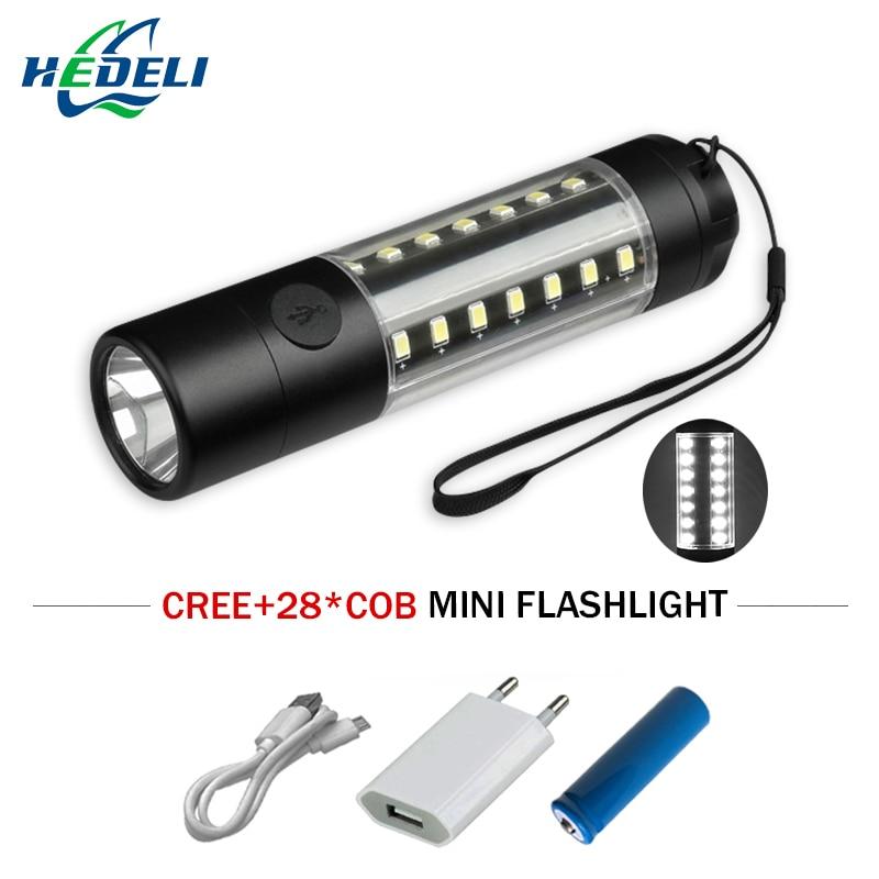 Портативный USB светодиодный фонарик CREE XML T6 удара Водонепроницаемый Фонари фонарик Перезаряжаемые Кемпинг лампы 360 градусов освещения