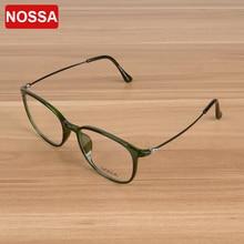 e78fad7cd3 NOSSA High Quality Women And Men TR90 Ultralight Glasses Frame Myopia Prescription  Optical Frame Fashion Female
