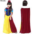 TITIVATE Halloween Dress Queen Cartoon Snow White Girls Party Princess Cinderella Costume Children Clothes fantasia Pluz Sixe