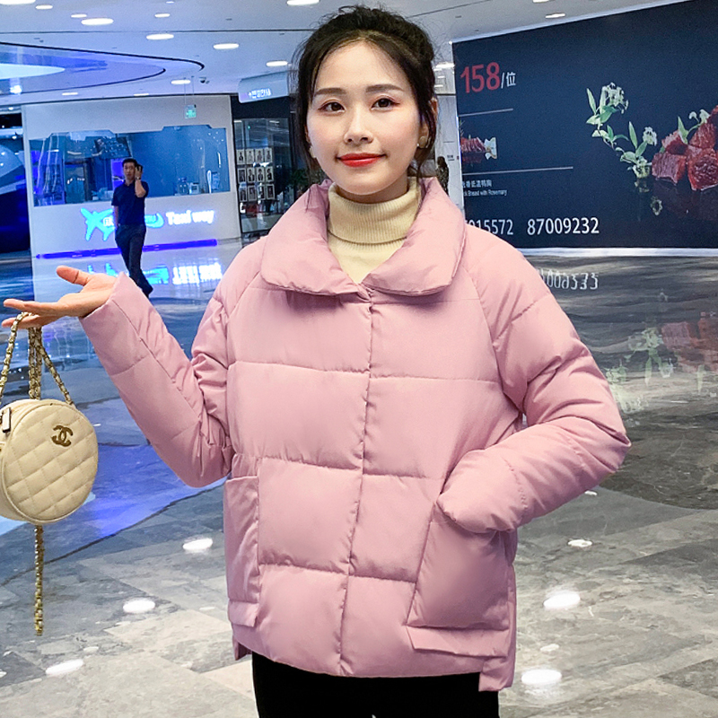 2019 Sweet Women Winter   Jacket   Autumn Cotton Padded Outwear Female Short Coat Candy Color Ladies   Basic     Jacket