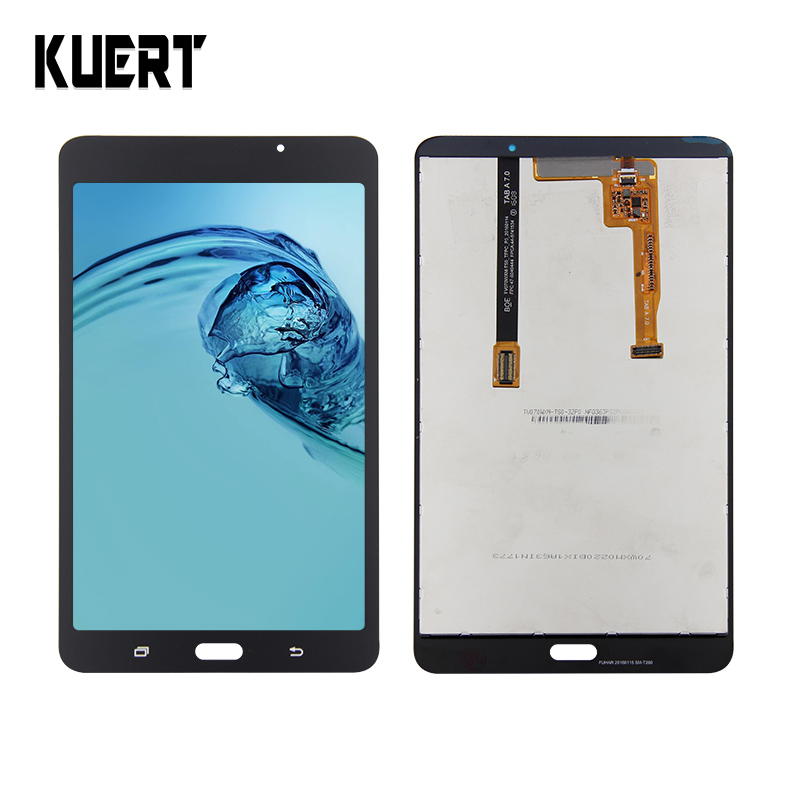 For Samsung Galaxy Tab A 7.0 (2016) SM-T280 T280 Display Panel LCD Combo Touch Screen Glass Sensor Replacement Parts