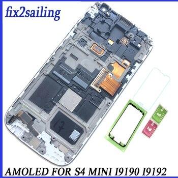 c0ede03cea6 Super AMOLED pantalla Lcd para Samsung Galaxy S4 Mini I9190 I9192 I9195 pantalla  LCD reemplazo digitalizador