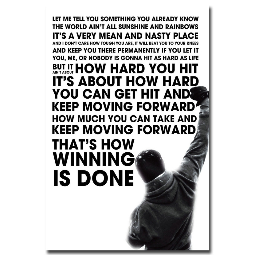 Inspirational Quotes Motivation: Online Buy Wholesale Rocky Quotes From China Rocky Quotes