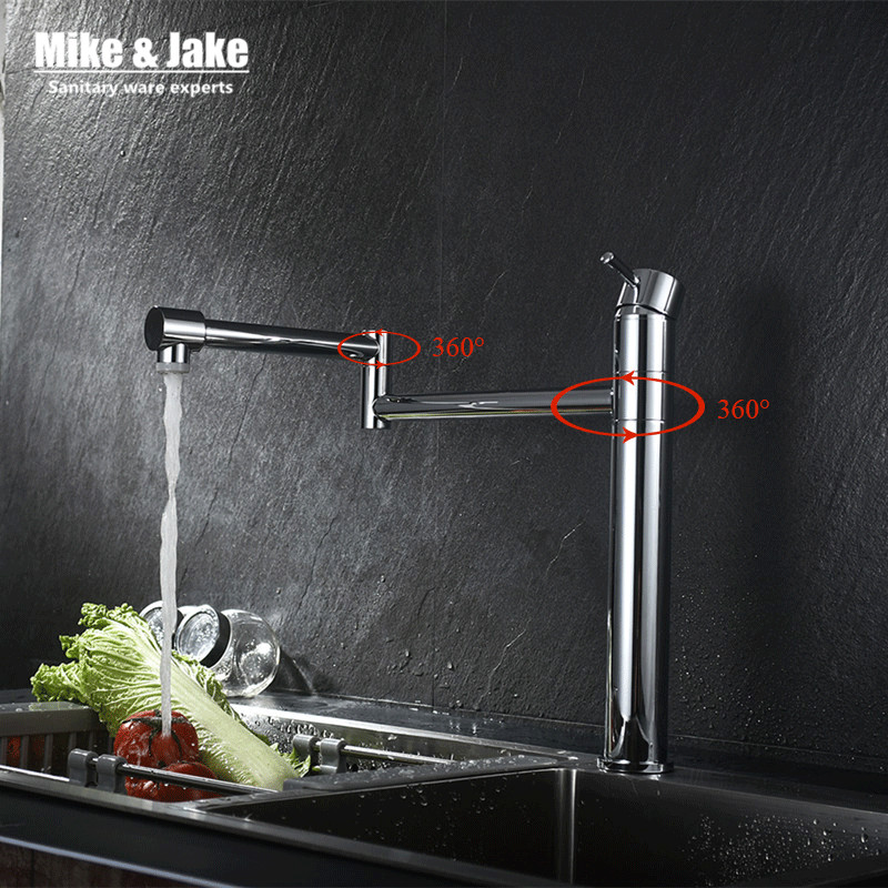 360 degree floding Kitchen faucet chorme sink mixer basin crane with two way water flow kitchen tap tall faucet water mixer kitavawd31eccox70427 value kit avanti tabletop thermoelectric water cooler avawd31ec and glad forceflex tall kitchen drawstring bags cox70427
